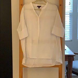 Banana Republic white tunic
